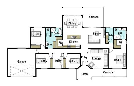 House Design Floor Plan Grand 270