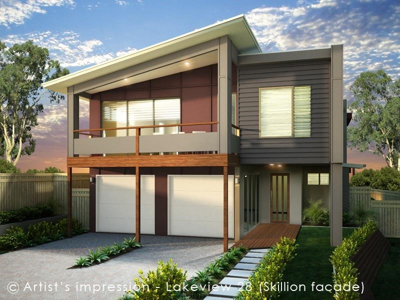 House Design Render Lakeview 28