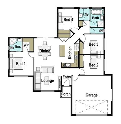 House Design Floor Plan Laura 165