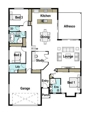 House Design Floor Plan Logan 225