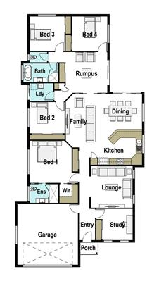 House Design Floor Plan Mackay 230