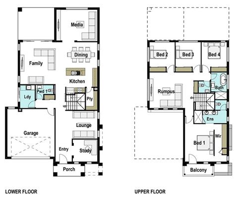 House Design Floor Plan Paris 320