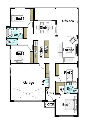 House Design Floor Plan Presence 190
