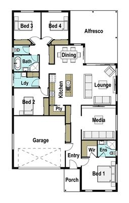 House Design Floor Plan Presence 220