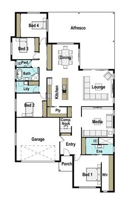 House Design Floor Plan Presence 315