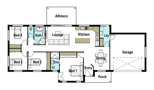 House Design Floor Plan Quirindi 200