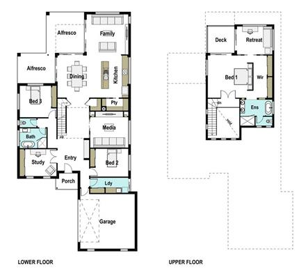 House Design Floor Plan Riverview 350