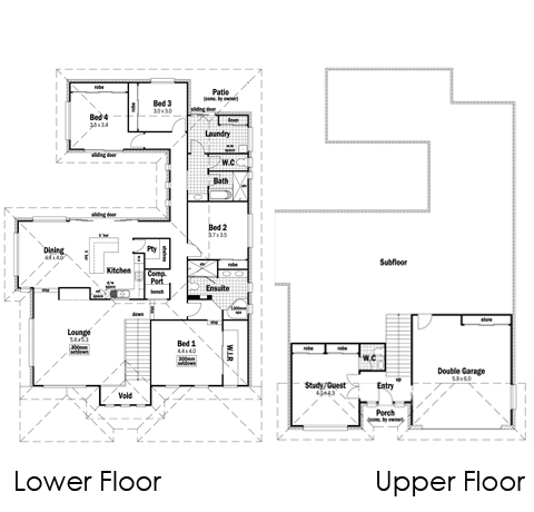 House Design Floor Plan Sandon 33