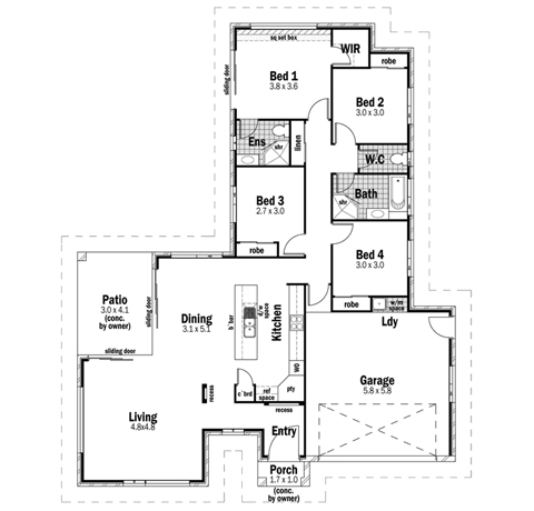 House Design Floor Plan Sovereign 21