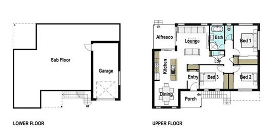 House Design Floor Plan Spinnaker 150