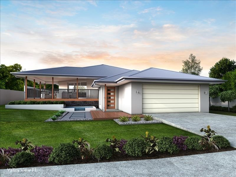 House Design Render Valley View 260