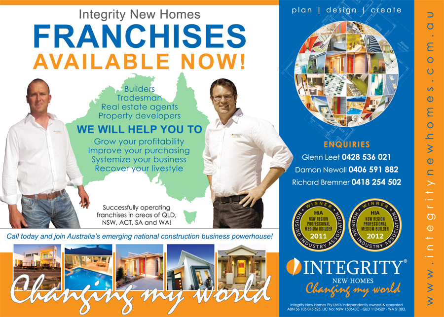 Integrity New Homes� ~ Changing my world!